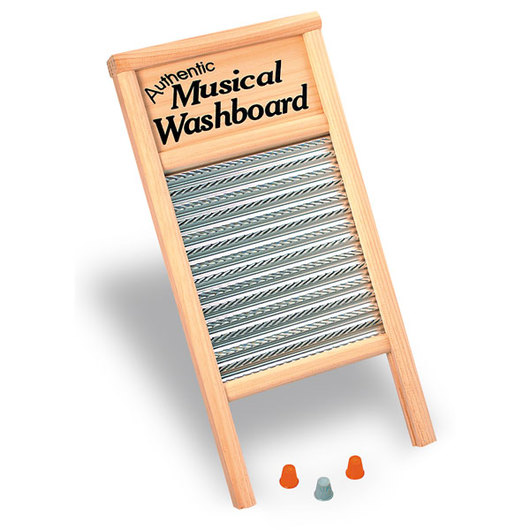 Old Fashioned Musical Washboard