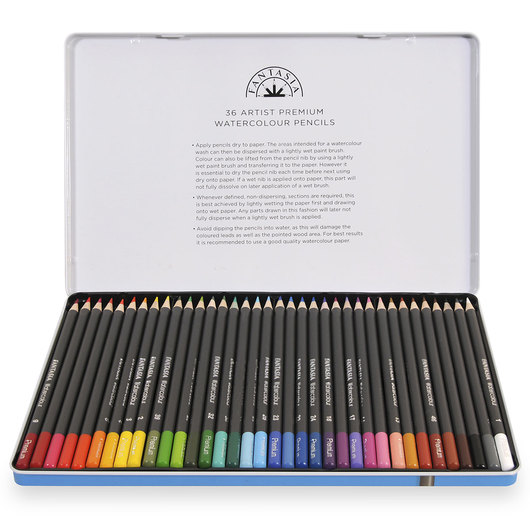 Fantasia Watercolor Pencils - Set of 36