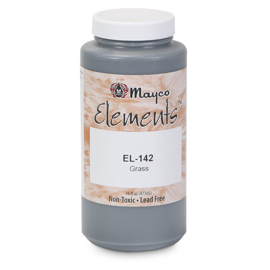 Mayco® Elements™ Glaze - Pint - Grass