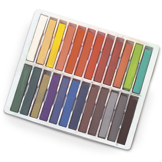 Royal Brush® Essentials™ Soft Chalk Pastels - Set of 24 Landscape Colors