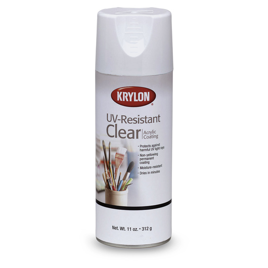 Krylon® UV-Resistant Clear Gloss Spray