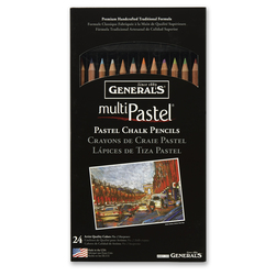 General's® Multi-Pastel® Chalk™ Pencils - Set of 24