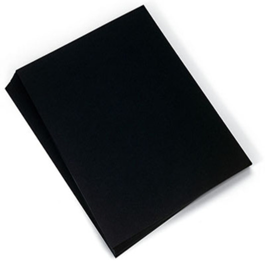 Black Tag Board - 8-1/2 in. x 11 in.