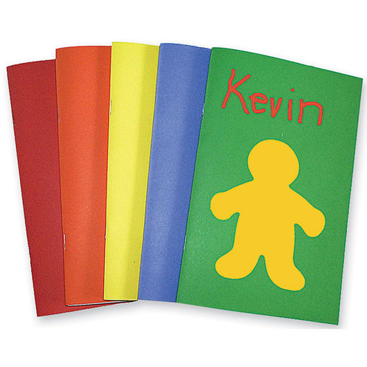 Bright Books - Pkg. of 20, 5-1/2 in. x 8-1/2 in.