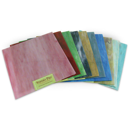 Opalescent Stained Glass Pack