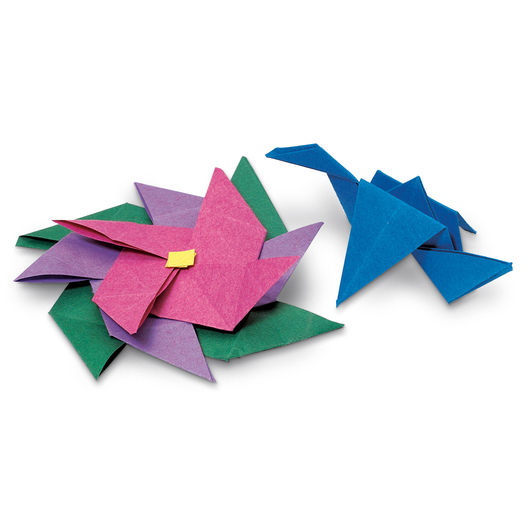 Folia® Origami Folding Paper - Pkg. of 500 - 4 in. x 4 in. Square
