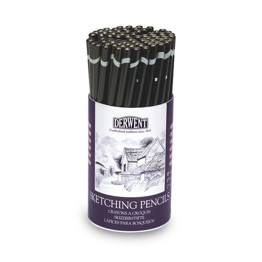 Derwent Sketching Pencils - Set of 72