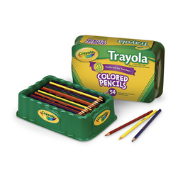 Crayola® Trayola® Colored Pencils - Set of 54