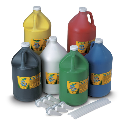 Crayola® Washable Paint - Set of 6 Gallons