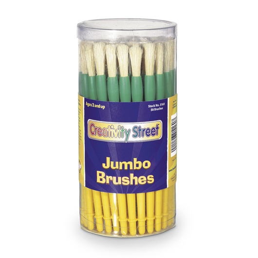 Pacon® Jumbo Brushes - Set of 58