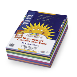 Pacon® SunWorks® Construction Paper SmartStack™ - 300 Sheets - 9 in. x 12 in.