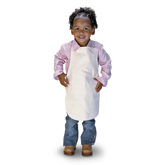Natural Canvas Apron - 12 in. x 19 in.