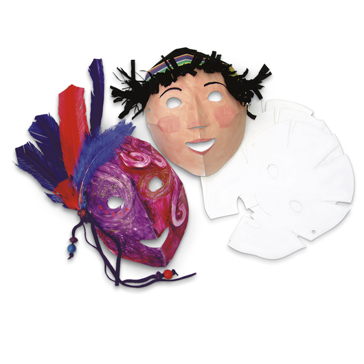 Roylco® Folding Fun Masks - Pkg. of 40