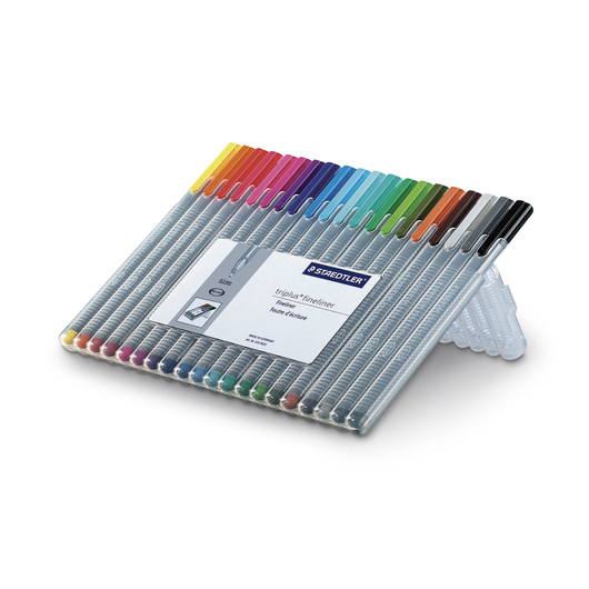 STAEDTLER® triplus® Fineliner Pens - Set of 20