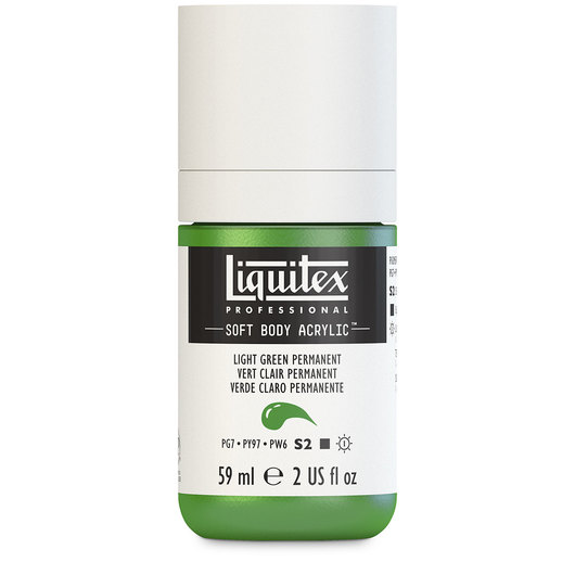 Liquitex® Soft Body Acrylic Color - 2-oz. Jar - Light Green Permanent