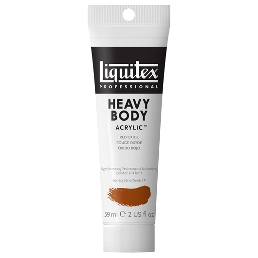 Liquitex® Heavy-Body Acrylic Paint - 2-oz. Tube - Red Oxide