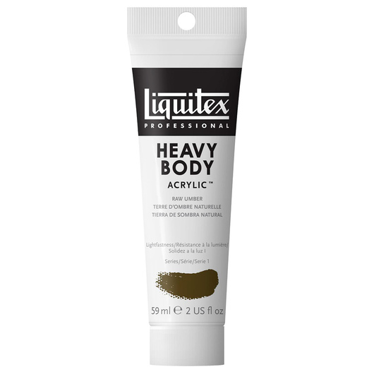 Liquitex® Heavy-Body Acrylic Paint - 2-oz. Tube - Raw Umber