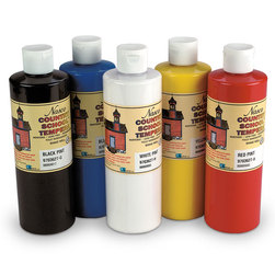 Nascos Country School Tempera Paint Set