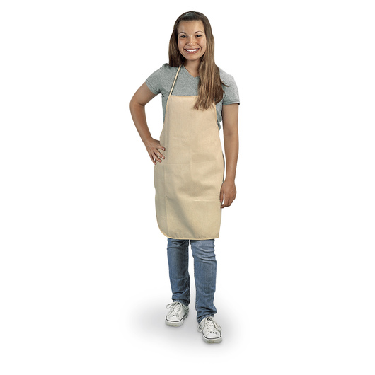 Natural Canvas Adult Aprons - Pkg. of 18