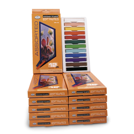 Royal Brush® Essentials™ Soft Pastels Classroom Assortment - Pack of 144