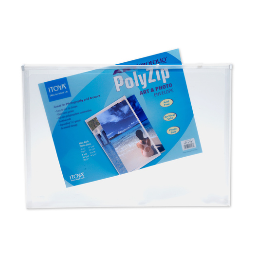 Art Profolio® PolyZip™ Art and Photo Envelope - 13 in. x 19 in.