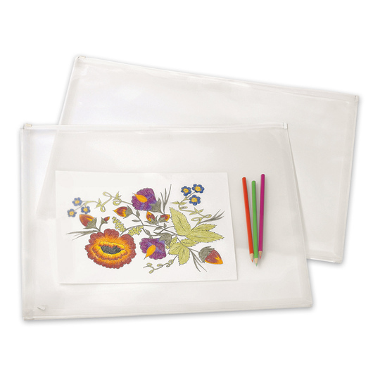 Art Profolio® PolyZip™ Art and Photo Envelope - 14 in. x 17 in.