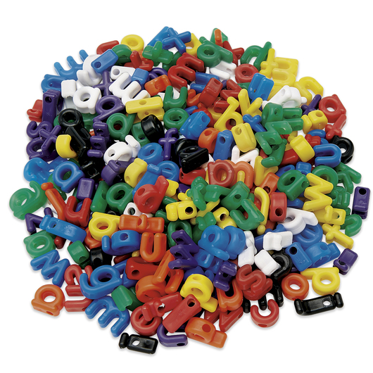 Roylco® Lowercase Manuscript Letter Beads - Pkg. of 288