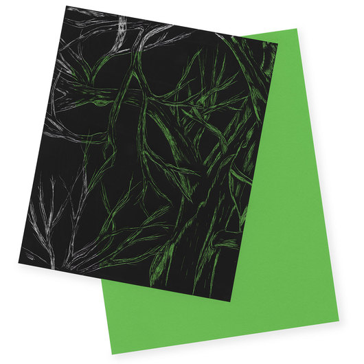 Scratch-Art® Clear®Scratch® Film Sheets - Pkg. of 30 - 8 in. x 9-3/4 in.