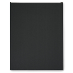 Fredrix Black Cotton Pre-Stretched Canvas