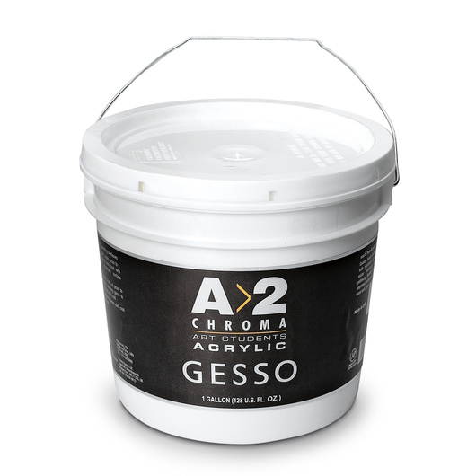 Chroma® A>2 Student Gesso - Gallon