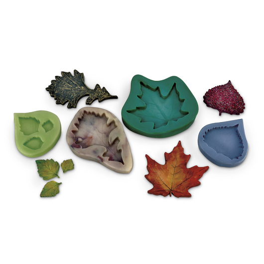 Nasco Classic Leaf Molds - Set of 4