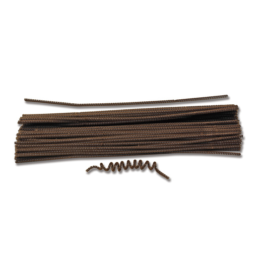 Pacon® Polyester Stems - Brown - Pkg. of 100