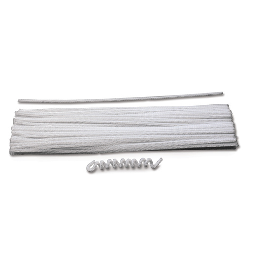 Pacon® Polyester Stems - White - Pkg. of 100