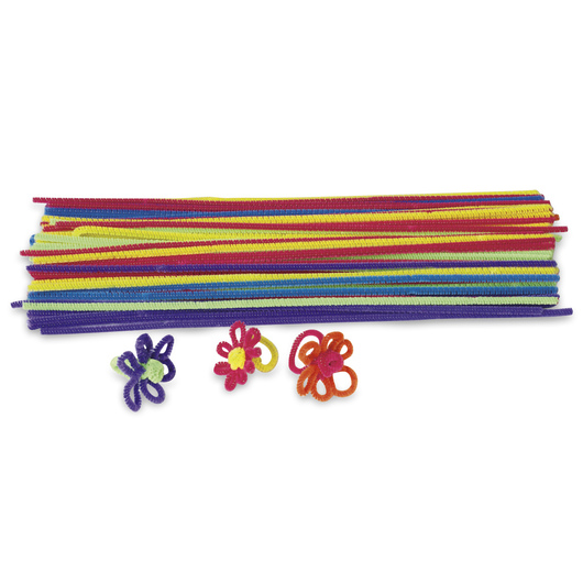 Pacon® Polyester Stems - Hot Colors - Pkg. of 100