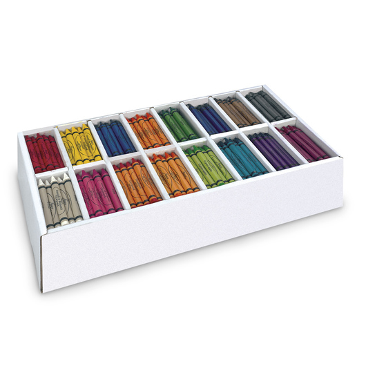 Nasco Country School™ 16-Color Crayon Classroom Set - Box of 800