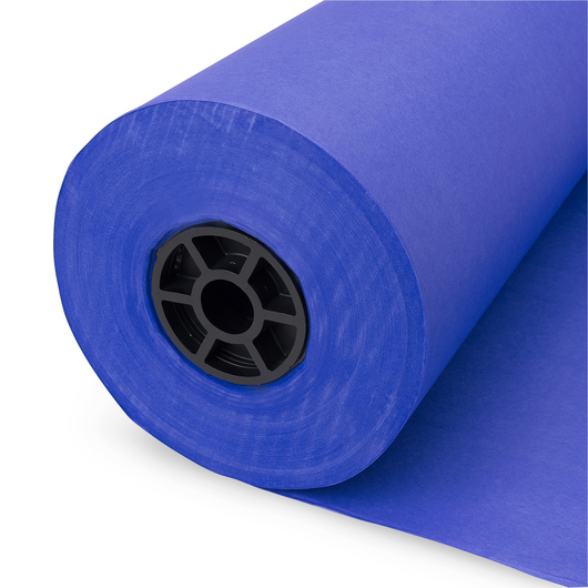 Pacon® Rainbow® Colored Kraft Duo-Finish® Paper Roll - Royal Blue