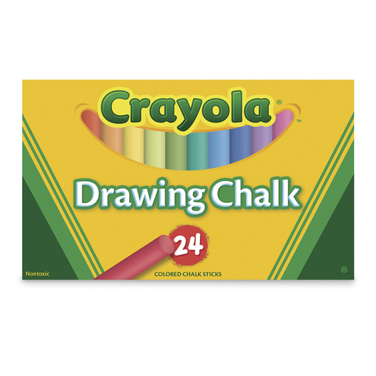 Crayola® Colored Drawing Chalk - Box of 24