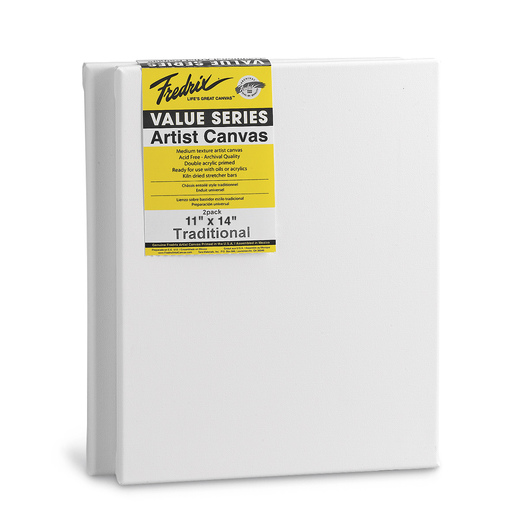 Fredrix® Value Series Stretched Canvas - Pkg. of 2
