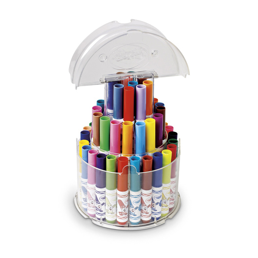 Crayola® Washable Pip-Squeaks™ Telescoping Marker Tower™ - Set of 50