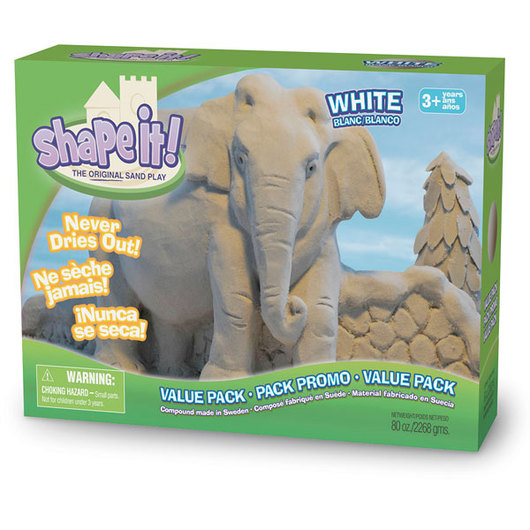 Relevant Play Shape It!™ Sand White - 5 lb. Box