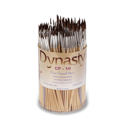 CP-10 Dynasty® Design Brushes - Fine Camel Hair Set of 144