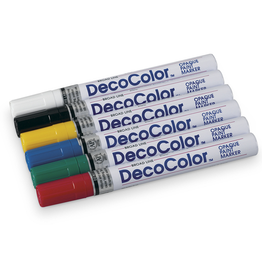 DecoColor™ Paint Markers - Broad Point Set
