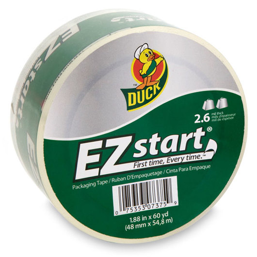 Duck® EZ Start® Packaging Tape - 1.88 in. x 60 yd.