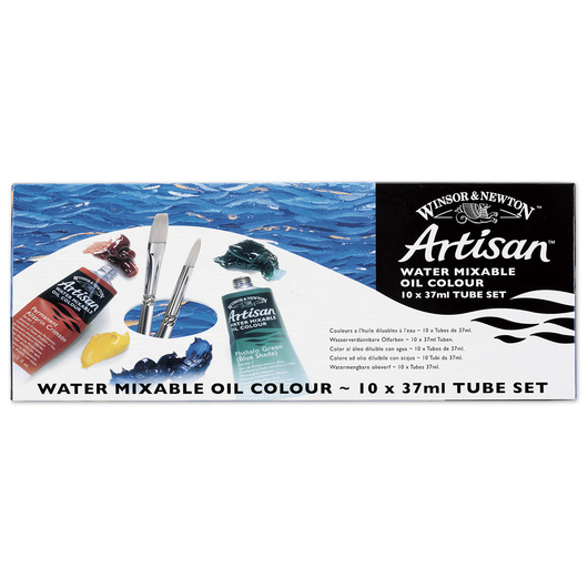 Winsor & Newton™ Artisan™ Water-Mixable Oil Colors - Set of 10 - 37 ml Tubes
