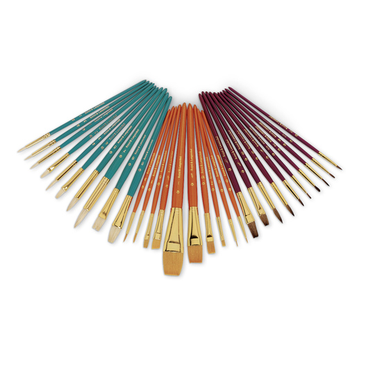 Royal Brush® Value Pack Brushes - Set of 30