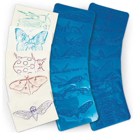 Roylco® Nature Rubbing Plates - True Insects