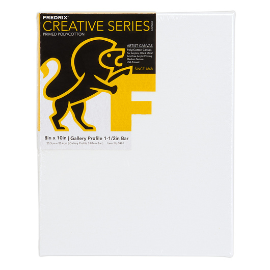 Fredrix® Value Series Stretched Canvas Gallery Style - 8 in. x 10 in.