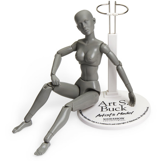 Art S. Buck Artist Model - Female