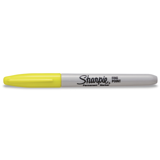 Sharpie® Fine-Point Marker - Supersonic Yellow