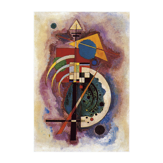 Homage to Grohman by Wassily Kandinsky from Eurographics
